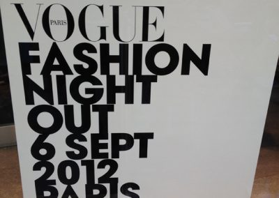 2012 : VOGUE FASHION WEEK – COLETTE