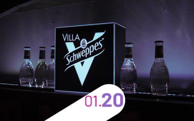 VILLA SCHWEPPES – FESTIVAL DU FILM DE L'ALPE D'HUEZ